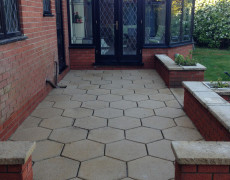 beautiful patio after jet wash