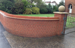wall pressure wash Norfolk