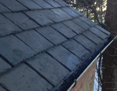 roof and gutters cleaned Norfolk